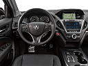 2018 Acura MDX Sport Hybrid SH-AWD, steering wheel/center console.