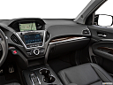 2018 Acura MDX Sport Hybrid SH-AWD, center console/passenger side.