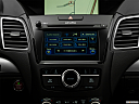 2018 Acura RDX AWD, closeup of radio head unit