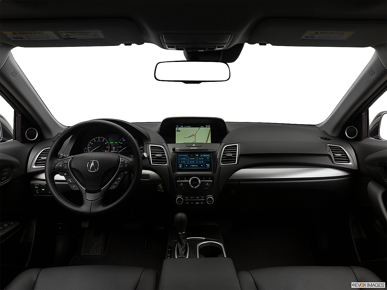 2018 Acura RDX AWD, centered wide dash shot
