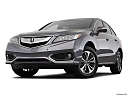 2018 Acura RDX AWD, front angle view, low wide perspective.