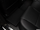 2018 Acura RDX AWD, rear driver's side floor mat. mid-seat level from outside looking in.