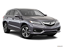 2018 Acura RDX AWD, front passenger 3/4 w/ wheels turned.