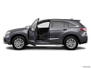 2018 Acura RDX AWD, driver's side profile with drivers side door open.