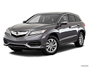 2018 Acura RDX AWD, front angle medium view.