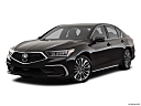 2018 Acura RLX, front angle medium view.
