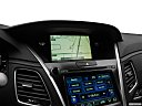 2018 Acura RLX, driver position view of navigation system.