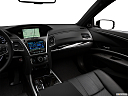 2018 Acura RLX, center console/passenger side.