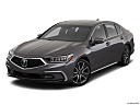 2018 Acura RLX Sport Hybrid SH-AWD, front angle view.