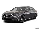 2018 Acura RLX Sport Hybrid SH-AWD, front angle medium view.