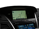 2018 Acura RLX Sport Hybrid SH-AWD, driver position view of navigation system.