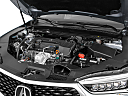 2018 Acura TLX 2.4 8-DCT P-AWS, engine.