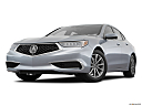 2018 Acura TLX 2.4 8-DCT P-AWS, front angle view, low wide perspective.