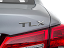 2018 Acura TLX 2.4 8-DCT P-AWS, rear model badge/emblem