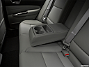 2018 Acura TLX 2.4 8-DCT P-AWS, rear center console with closed lid from driver's side looking down.