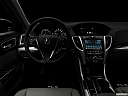 "2018 Acura TLX 2.4 8-DCT P-AWS, centered wide dash shot - ""night"" shot."