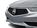 2018 Acura TLX 2.4 8-DCT P-AWS, close up of grill.