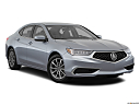 2018 Acura TLX 2.4 8-DCT P-AWS, front passenger 3/4 w/ wheels turned.