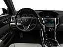 2018 Acura TLX 2.4 8-DCT P-AWS, steering wheel/center console.