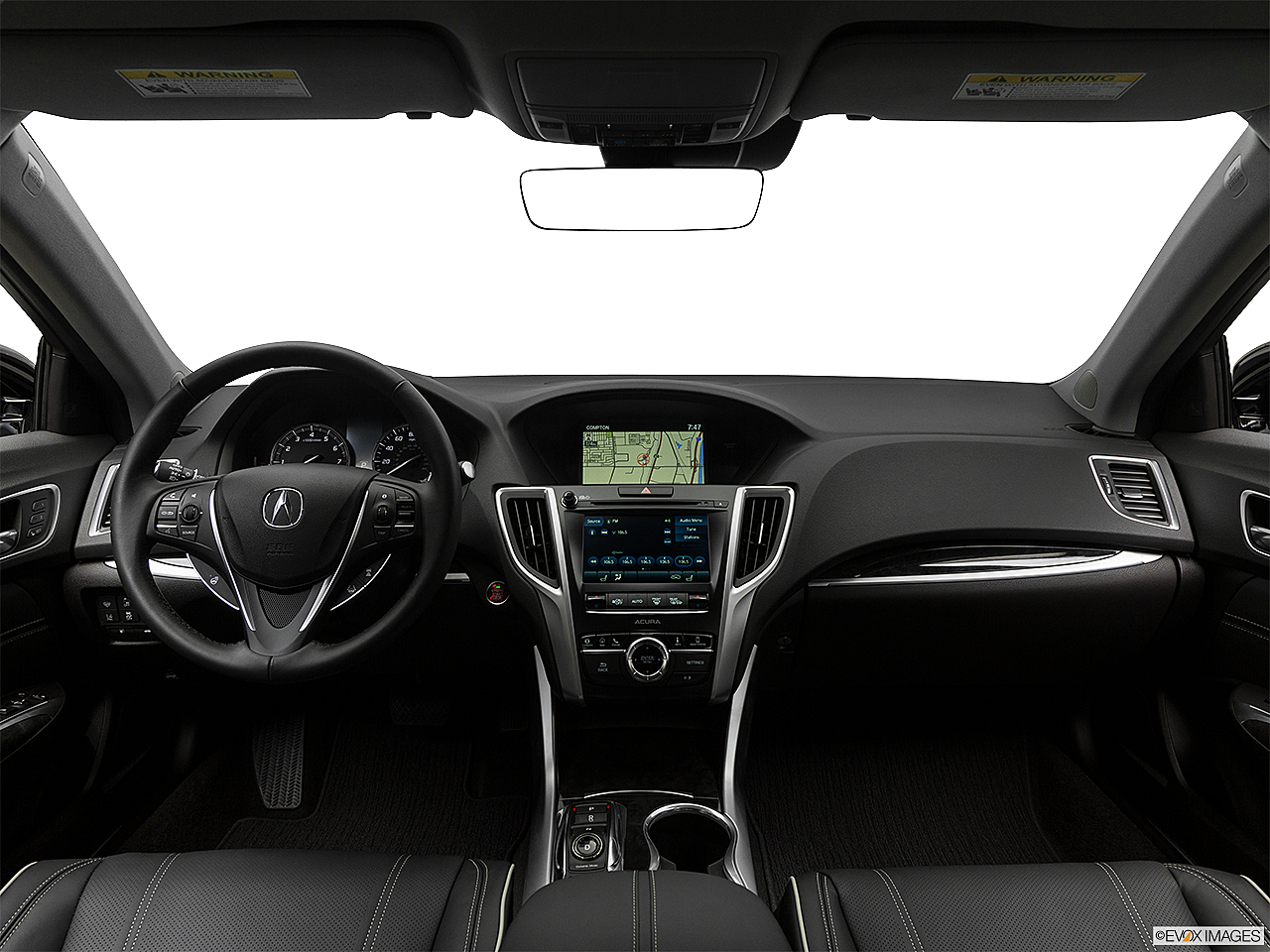 2018 Acura TLX 3.5L, centered wide dash shot