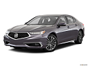 2018 Acura TLX 3.5L, front angle medium view.