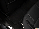 2018 Acura TLX 3.5L, rear driver's side floor mat. mid-seat level from outside looking in.