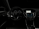 "2018 Acura TLX 3.5L, centered wide dash shot - ""night"" shot."
