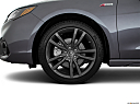 2018 Acura TLX 3.5L A-Spec, front drivers side wheel at profile.