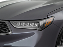 2018 Acura TLX 3.5L A-Spec, drivers side headlight.