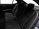 2018 Acura TLX 3.5L A-Spec, rear seats from drivers side.