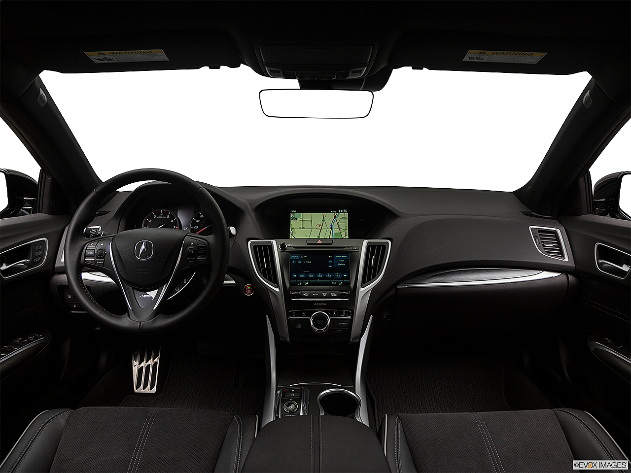 2018 Acura TLX 3.5L A-Spec, centered wide dash shot