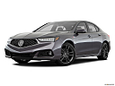 2018 Acura TLX 3.5L A-Spec, front angle medium view.