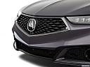 2018 Acura TLX 3.5L A-Spec, close up of grill.