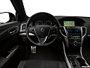 2018 Acura TLX 3.5L A-Spec, steering wheel/center console.