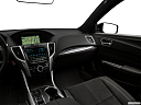 2018 Acura TLX 3.5L A-Spec, center console/passenger side.