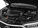 2018 Acura TLX 3.5L w/ Technology Package, engine.