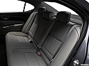 2018 Acura TLX 3.5L w/ Technology Package, rear seats from drivers side.
