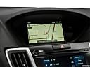 2018 Acura TLX 3.5L w/ Technology Package, driver position view of navigation system.