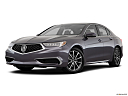 2018 Acura TLX 3.5L w/ Technology Package, front angle medium view.