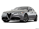 2018 Alfa Romeo Giulia, front angle view, low wide perspective.