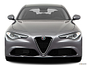 2018 Alfa Romeo Giulia, low/wide front.