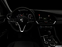 "2018 Alfa Romeo Giulia, centered wide dash shot - ""night"" shot."