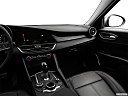 2018 Alfa Romeo Giulia, center console/passenger side.