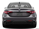2018 Alfa Romeo Giulia Ti Sport, low/wide rear.