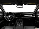 2018 Alfa Romeo Stelvio, centered wide dash shot