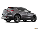 2018 Alfa Romeo Stelvio, low/wide rear 5/8.