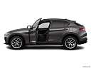 2018 Alfa Romeo Stelvio Ti Sport AWD, driver's side profile with drivers side door open.