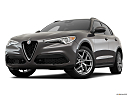 2018 Alfa Romeo Stelvio Ti Sport AWD, front angle view, low wide perspective.