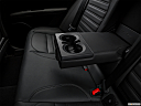 2018 Alfa Romeo Stelvio Ti Sport AWD, rear center console with closed lid from driver's side looking down.