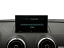 2018 Audi A3 Sportback e-tron Premium 1.4 TFSI PHEV, closeup of radio head unit